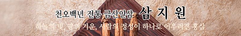 천오백년전통금산인삼 삼지원